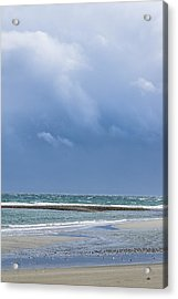 Layers Of March Acrylic Print by Tom Trimbath