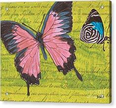 Le Papillon 2 Acrylic Print by Debbie DeWitt