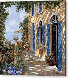 Le Porte Blu Acrylic Print by Guido Borelli