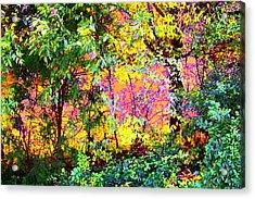 Leafy II Acrylic Print