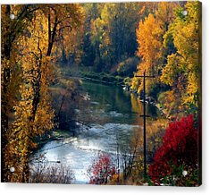 Leavenworth Fall Acrylic Print
