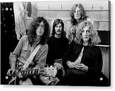 Led Zeppelin 1969 Acrylic Print by Chris Walter