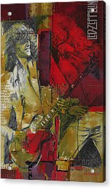 Led Zeppelin  Acrylic Print by Corporate Art Task Force