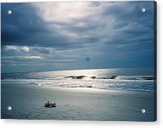 Left Behind Acrylic Print by Michele Kaiser