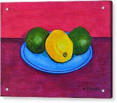 Lemon Or Lime Acrylic Print
