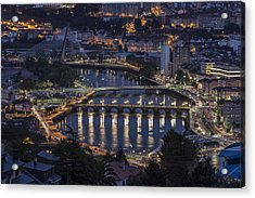 Lerez River Pontevedra Galicia Spain Acrylic Print