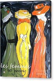 Les Femmes Acrylic Print