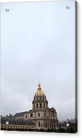 Les Invalides - Paris France - 01131 Acrylic Print by DC Photographer