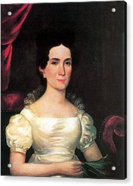Letitia Tyler, First Lady Acrylic Print by Science Source