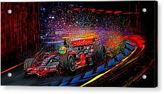 Lewis Acrylic Print by Alan Greene