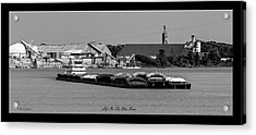 Life On The Ohio River Acrylic Print by David Lester