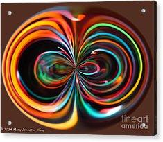 Light Art Acrylic Print
