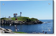 Acrylic Print featuring the photograph Light House by Rose Wang