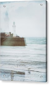 Lighthouse Acrylic Print by Amanda Elwell