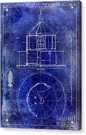 Lighthouse Lantern Lense Order Blueprint  Acrylic Print