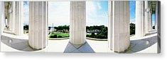 Lincoln Memorial Washington Dc Usa Acrylic Print