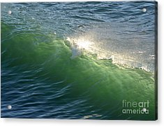 Linda Mar Beach - Northern California Acrylic Print by Dean Ferreira