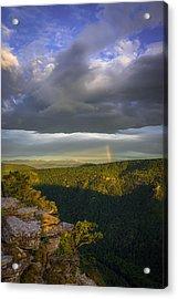 Linville Gorge Sunrise Acrylic Print