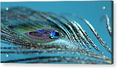 Liquid Blue Acrylic Print