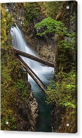 Little Qualicum Falls Acrylic Print