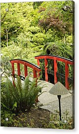 Little Red Bridge Acrylic Print