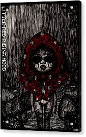 Little Red Riding Hood Acrylic Print by Akiko Okabe