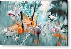 Lluvia Acrylic Print by Alfonso Garcia