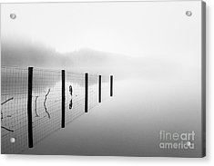 Loch Ard Early Mist Acrylic Print by John Farnan