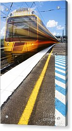 Loco Motion Train Acrylic Print by Jorgo Photography - Wall Art Gallery