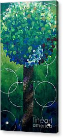 Lollipop Tree Green Acrylic Print