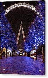 London Eye Acrylic Print by Stephen Norris