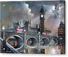 London Pride Acrylic Print