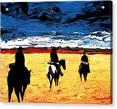 Long Journey Home Acrylic Print