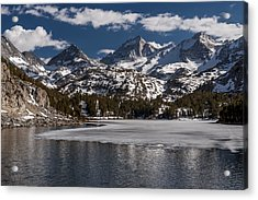 Long Lake Acrylic Print by Cat Connor