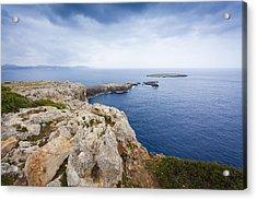 Looking At The Sea Acrylic Print by Antonio Macias Marin