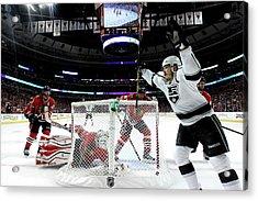 Los Angeles Kings V Chicago Blackhawks Acrylic Print by Jonathan Daniel