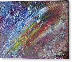 Acrylic Print featuring the painting Lost And Found by Tracey Myers