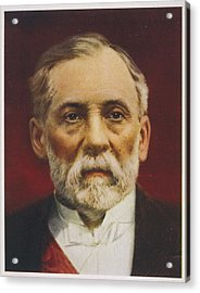 Louis Pasteur (1822 - 1895) French Acrylic Print by Mary Evans Picture Library