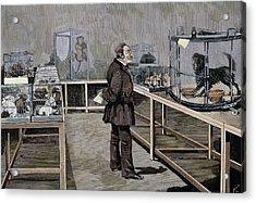 Louis Pasteur (1822-1895 Acrylic Print by Prisma Archivo