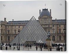Louvre - Paris France - 011313 Acrylic Print