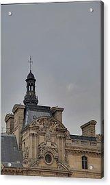 Louvre - Paris France - 01135 Acrylic Print by DC Photographer
