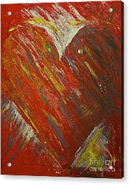 Love Acrylic Print by Amazing Jules