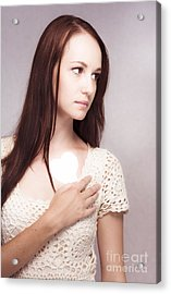 Love And Loss Acrylic Print by Jorgo Photography - Wall Art Gallery