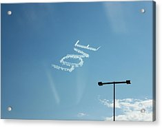 Acrylic Print featuring the photograph Love In The Air  by Lorna Maza