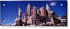 Low Angle View Of A Hotel, New York New Acrylic Print