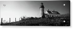 Low Angle View Of A Lighthouse, West Acrylic Print