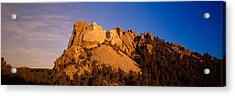 Low Angle View Of A Monument, Mt Acrylic Print