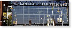 Low Angle View Of A Stadium, Lambeau Acrylic Print by Panoramic Images