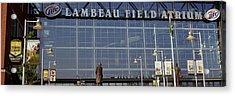 Low Angle View Of A Stadium, Lambeau Acrylic Print