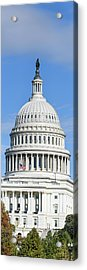 Low Angle View Of Capitol Building Acrylic Print
